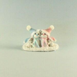 OOAK~Snowmen~Snow Bunnies~Christmas~Baby Toy~Artist Doll~Dollhouse~Cheryl Brown