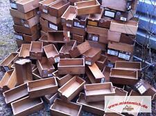 alte Holzkisten Holzladen Schubladen 25x12x9cm.Kasten Laden Holzboxen genagelt !