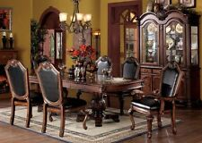 Acme Chateau De Ville 7 Piece Dining Room Cherry Set Furniture 04075
