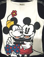 Vintage Disney Women's Tank Top Medium Mickey Minnie Mouse Disney World