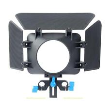 #QZO M1 Matte Box Camera Shade for 15mm Rail Rod Follow Focus Rig Cage Camera