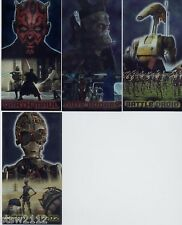 STAR WARS TOPPS EPISODE 1 SERIES 1 RETAIL FOIL INSERT F10 C-3PO AND R2-D2