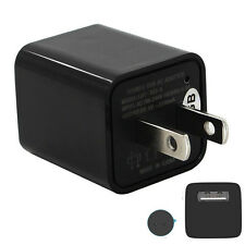 USB Wall Charger AC Adapter US Plug Spy Hidden Camera Video DRV Recorder 1080P
