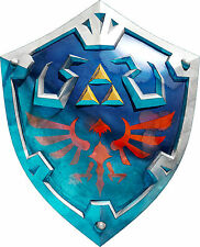 Framed Print - Zelda Hylian Shield (Picture Poster Art Game Gaming Wii Xbox 360)