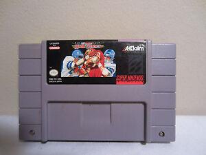 Super Nintendo Super High Impact Game Cartridge SNES TESTED WORKS