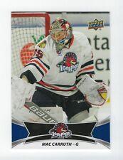 2016-17 Upper Deck AHL #10 Mac Carruth (Lausitzer Füchse)
