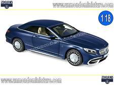 Mercedes-Maybach S650 Cabriolet 2018 Dark Blue Métallic NOREV - NO 183472 - 1/18