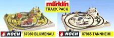 Track Set Noch 87060 87065 Marklin Z Scale UPDATED ENGLISH PLAN *in USA $0 SHIP