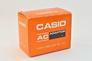 Casio AC Adaptor Model AD-IU,120V input,7.5V output, New Old Stock