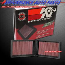 K&N 33-2410 Hi-Flow Air Intake Washable Drop in Filter for 07-08 BMW 750I 760I
