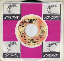 SAVOY BROWN Lost And Lonely Child /If I Could See An End rare promo 45 from 1972