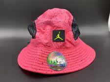 Air Jordan Poolside Mesh Bucket Hat Pink Jumpan Large XL