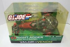 Hasbro G.I. Joe Night Adder with Wild Weasel Valor Vs. Venom