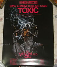 the GazettE Toxic 2011 Taiwan Promo Poster
