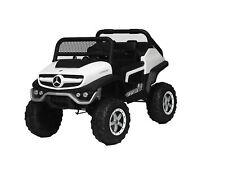 Auto Macchina Elettrica per Bambini Fuoristrada Mercedes UNIMOG 2 Posti 12V Ammo