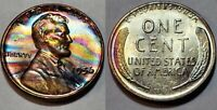 1956 - ABSOLUTELY STUNNING - MONSTER TONED - LINCOLN WHEAT CENT  #10257