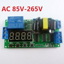 IO23B01 AC 110V 220V Multifunction Self-lock Relay PLC Cycle Timer Module Delay