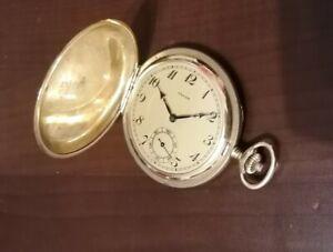 Taschenuhr Favor 17 Steine Feinregulierung Savonette Sprungdeckeluhr Gold 1930