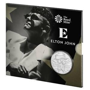 Royal Mint 2020 Elton John £5 BU Coin - The Very Best of - Music Legends Series