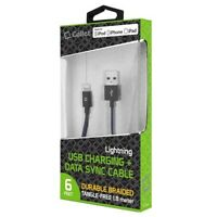 Cellet MFI Apple Certified 6ft Lightning USB Braided Charging Data Cable