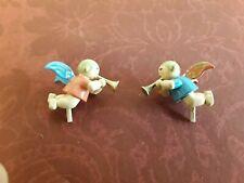 2 Mini Engel / Putten, blond, mit Fanfaren für Orgel von Wendt und Kühn