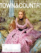 Town & Country magazine August 2018 Chloe Sevigny Weekend Paris Take a Gap Year