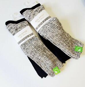 2 Gold Toe Womens 2 Pk Girlfriend Slouch Boot Socks Multi Sz 9-11 - New