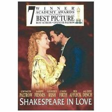 Shakespeare in Love (Dvd, 1999; Widescreen) Gwyneth Paltrow, Joseph Fiennes
