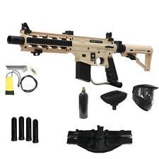 US ARMY Desert Tan Project Salvo Tactical Tippmann MEGA Paintball Gun Set CQB