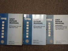 1998 Gm All Passenger Cars and Light Duty Trucks Unit Repair Manual Set Factory