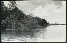 1950s L. L. Cook Co. Real Photo Post Card Houghton Lake, Michigan