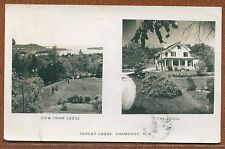 Forest Lodge Chamcook New Brunswick NB Canada real photo postcard RPPC
