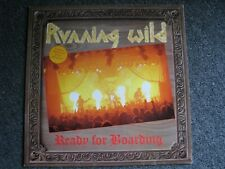 Running Wild-Ready for Boarding LP-1988 Germany-Noise-Heavy Metal