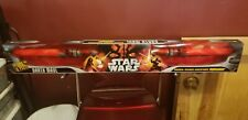 2006 STAR WARS DARTH MAUL DOUBLE BLADED ELECTRONIC LIGHTSABER