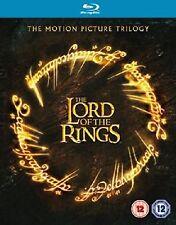 LORD OF THE RINGS Trilogy Bluray Complete Collection BoxSet Part 1+2+3 Sealed