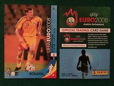 EURO 2008 CARD n 73 ROMANIA GOIAN , Figurina Panini NEW
