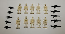 Lot Of 10 LEGO STAR WARS Battle Droids Minifigures Minifigs With Blasters Guns