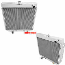 1970-1977 Ford Maverick Aluminum 4 Row Radiator, Champion Cooling