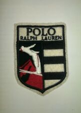Rare Vintage Polo Ralph Lauren Ski Man Shield Patch