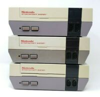 FOR PARTS Nintendo Entertainment System NES Console System ONLY Lot #2