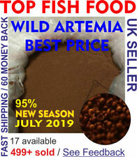 WILD ARTEMIA EGGS / Brine shrimp EGGS from Great Salt Lake.100% Natural /AWSDEAL
