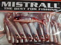 Fishing Soft Plastic Baits Lures For Jig heads Sea Bass Cod 6,5 cm 20 pcs Pack
