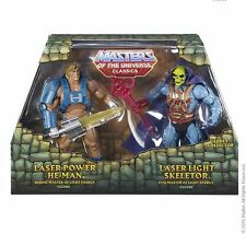 Laser Power He Man vs Laser Light Skeletor MOTU Masters of the UNIVERSE CLASSICS