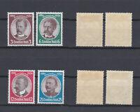 GERMAN REICH 1934 Lost colonies Mint * 432-435 (Mi.540-543)