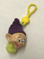 Snow White And The Seven Dwarfs Dopey #2 McDonalds Happy Meal Toy Clip