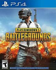 PS4 Game: PLAYERUNKNOWN'S BATTLEGROUNDS (Playstation 4, 2018)
