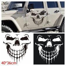 "Hood Decal Vinyl Sticker Skull Auto Car Tailgate Window 16"" Reflective SUV Truck"