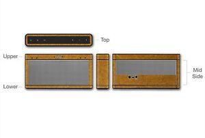 Stickerboy SoundLink 3 Skins Carbon Fiber Leather Metal Matte Wood