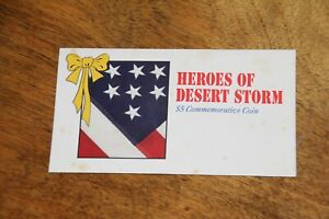 Heroes of Desert Storm $5 Commemorative Coin, Marshall Islands, 1991