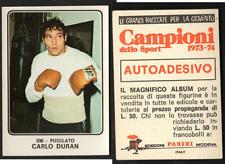 "Carlos Duran ""Mano de Pedra"" (ARG-ITA) Panini Boxing CARD 1973 NEW n.306 ▓"
